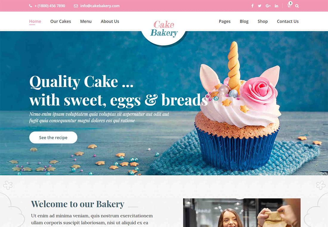 Modèles de sites Web de boulangerie