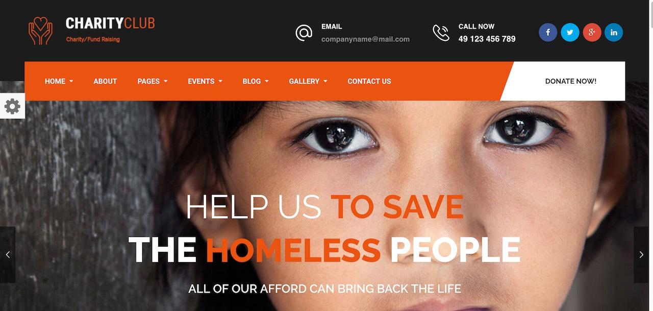 club-de-charité-charité-collecte-de-fonds-thème-wordpress-CL