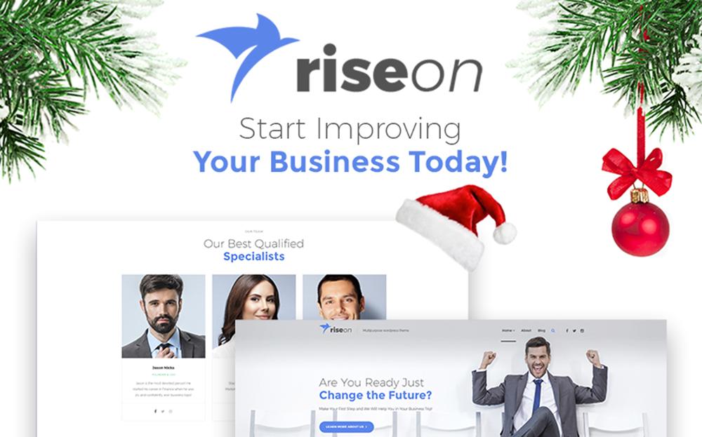 Riseon - Thème WordPress polyvalent