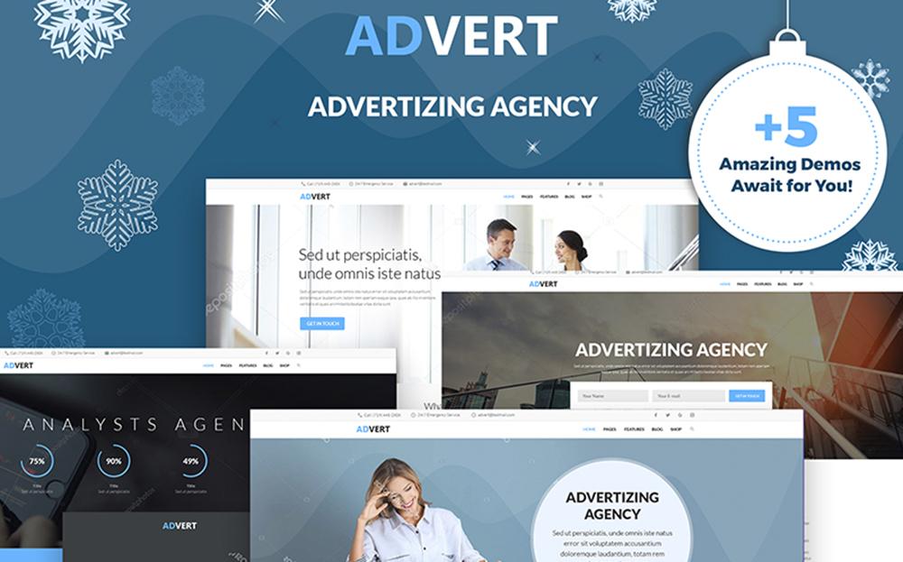 Publicité - Thème WordPress pour agence de publicité