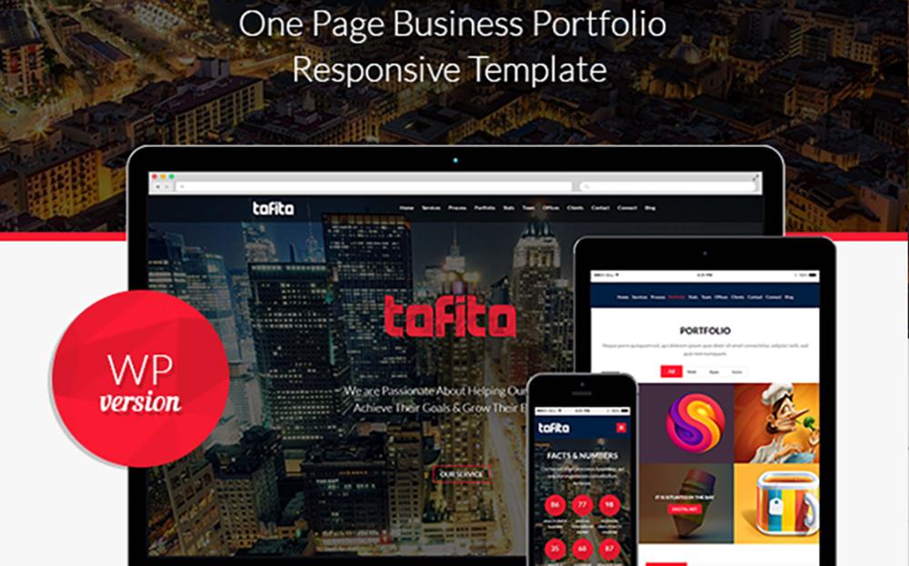 Tofito - Thème WordPress pour thème d'entreprise
