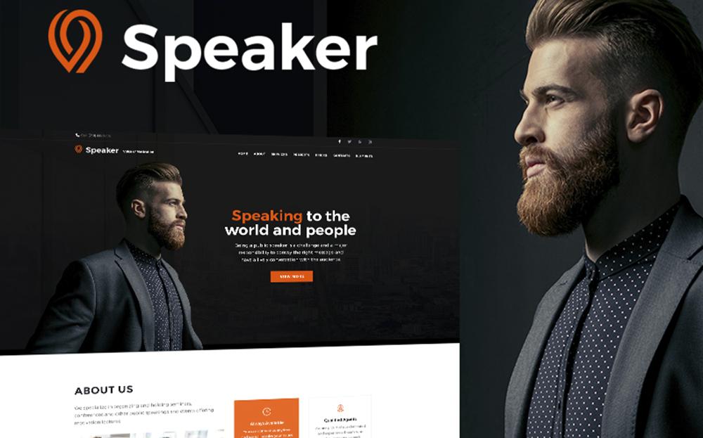 Conférencier - Thème WordPress Life Coach
