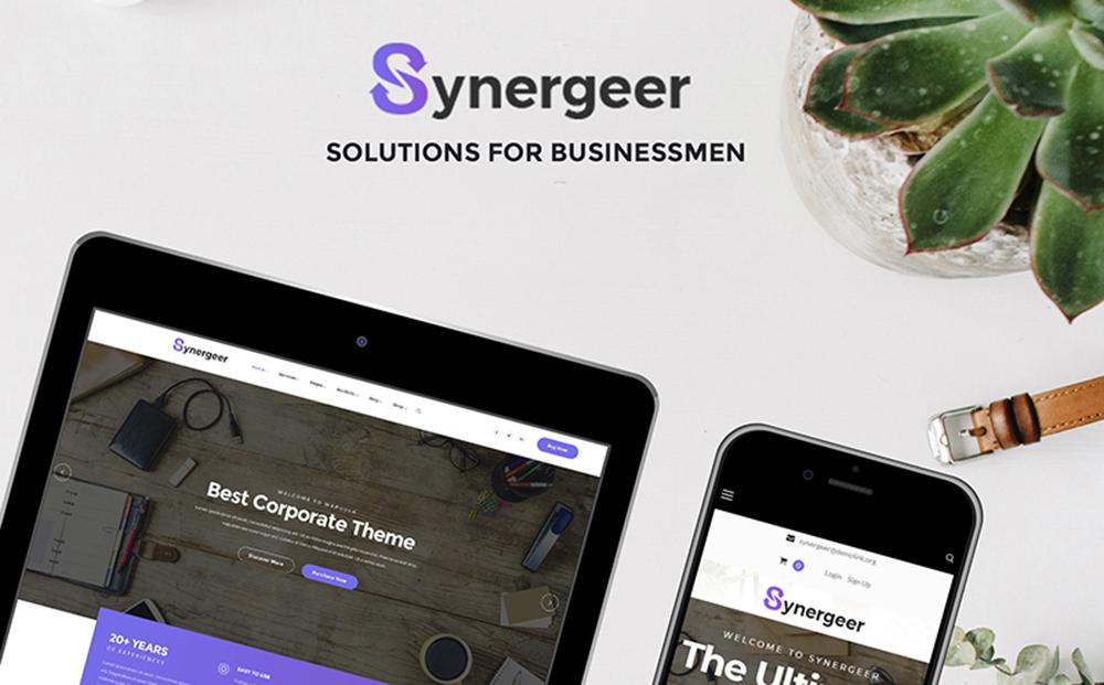 Synergeer - Thème WordPress d'entreprise