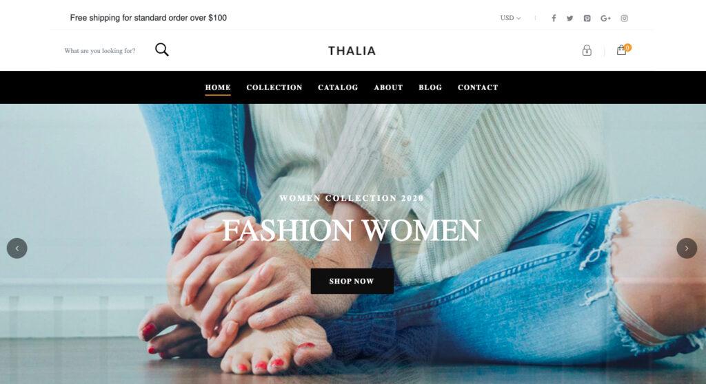 Thème Thalia