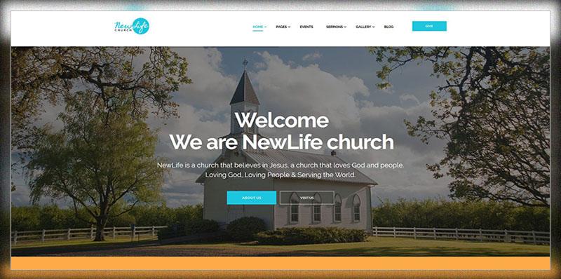 Nouvelle vie    Thème WordPress Church & Religion