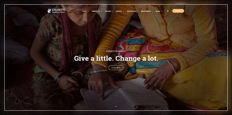 Thème WordPress de charité    Charité WP
