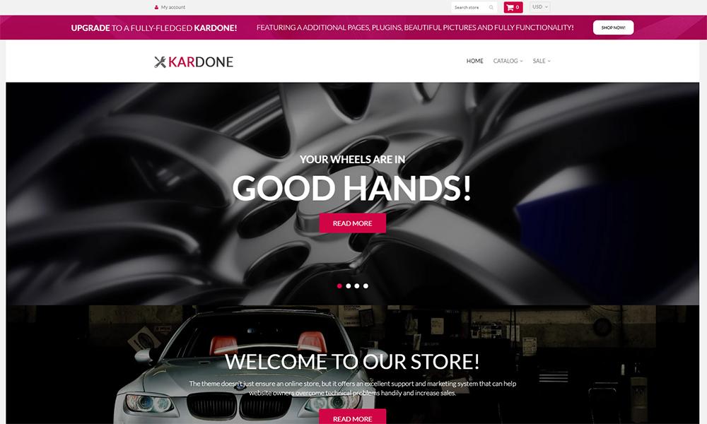 Kardone - Thème Shopify propre sans pièces de voiture