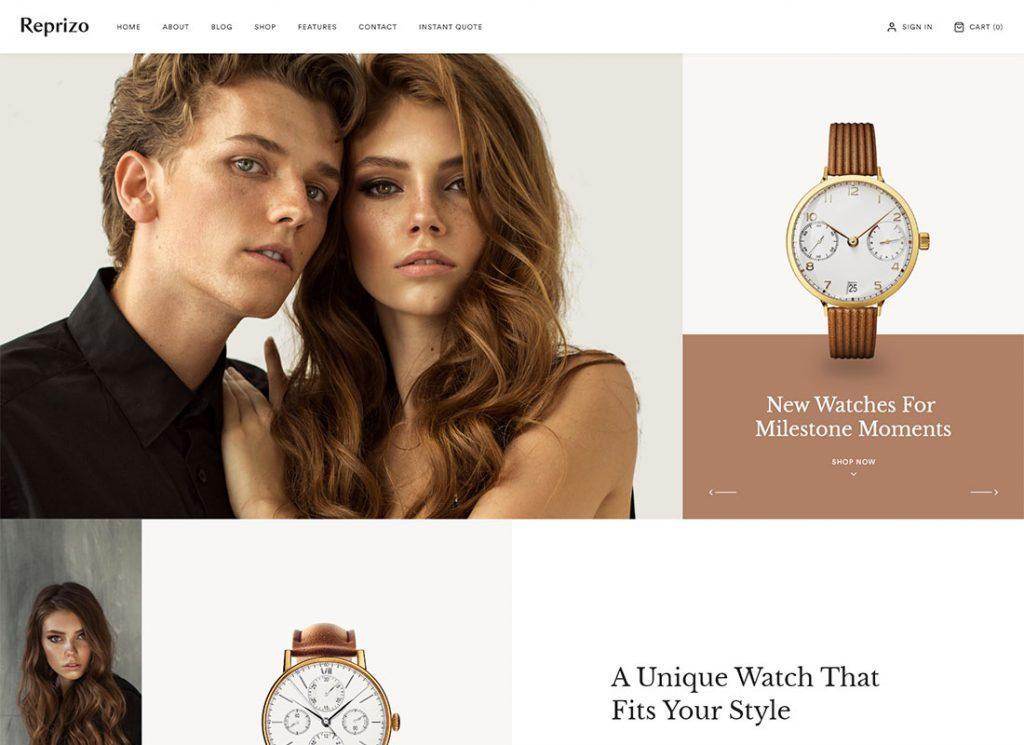 Reprizo    Thème WordPress pour bijoux et montres