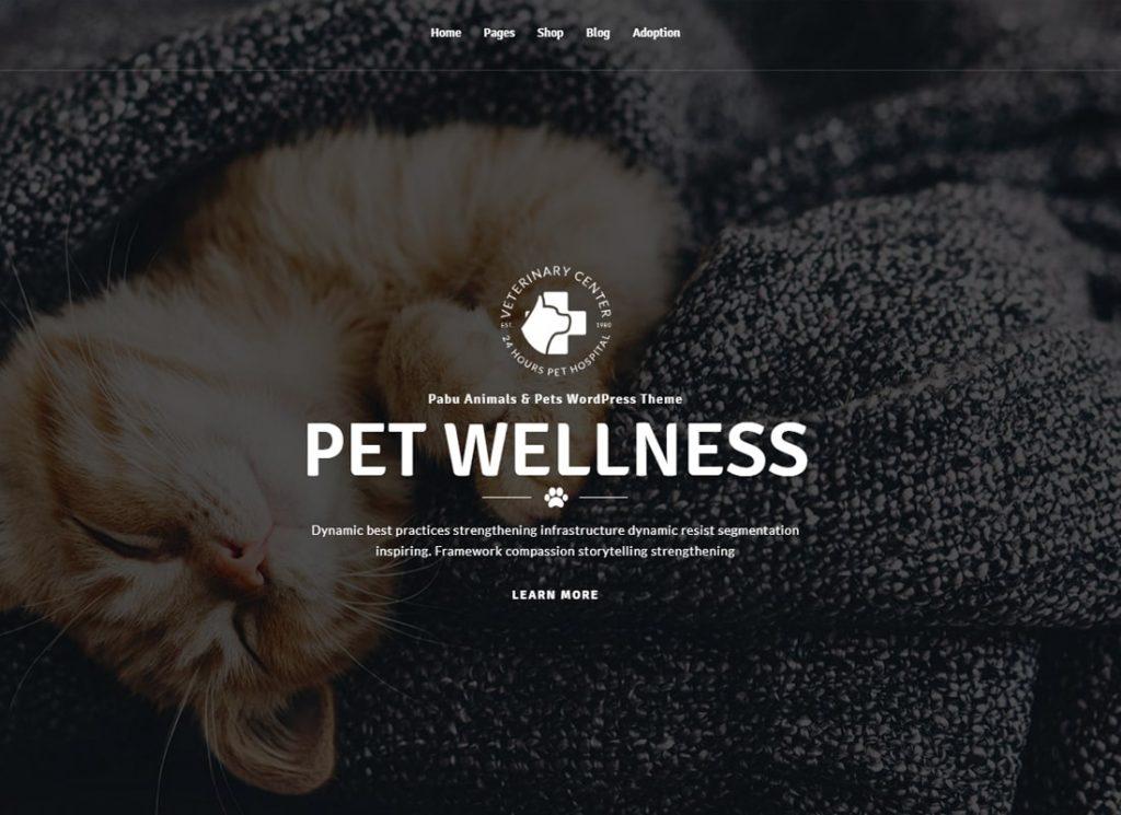 Pabu |  Thème WordPress pour animaux et animaux de compagnie