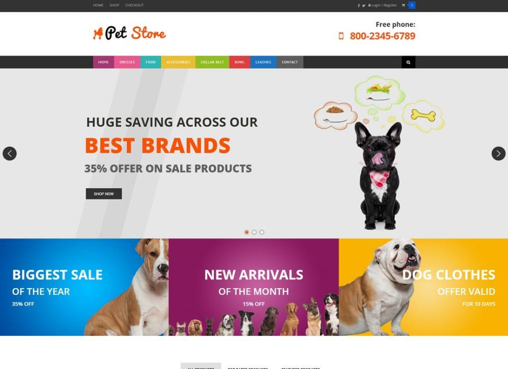 Animalerie |  Thème WordPress WooCommerce pour les animaux de compagnie et les vétérinaires