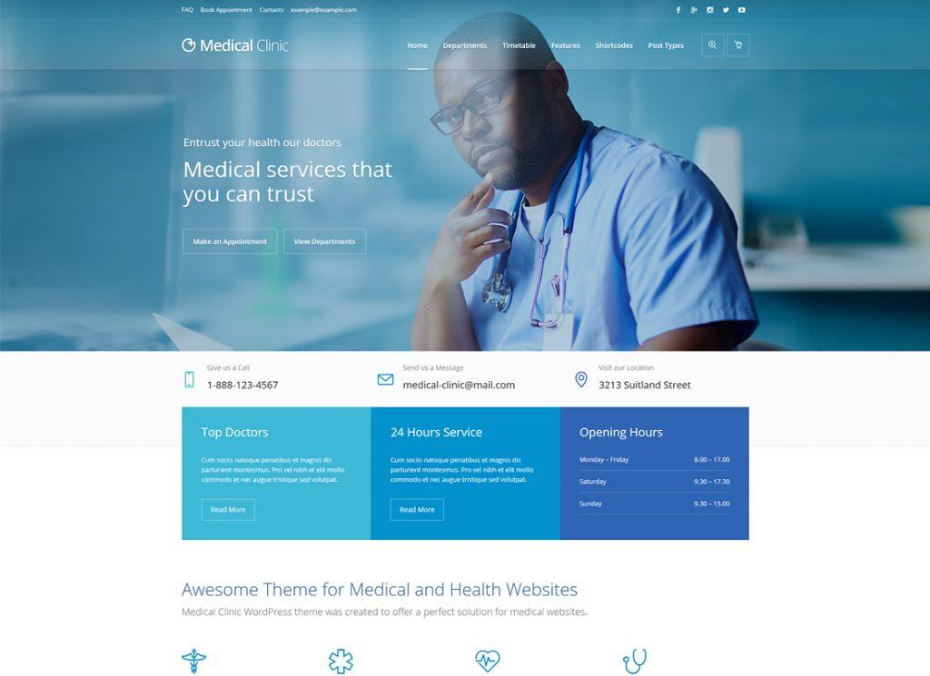 Clinique médicale |  Thème WordPress Health & Doctor Medical