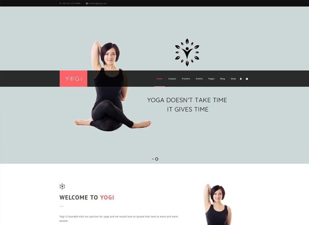 Yogi |  Thème WordPress Health Beauty & Yoga