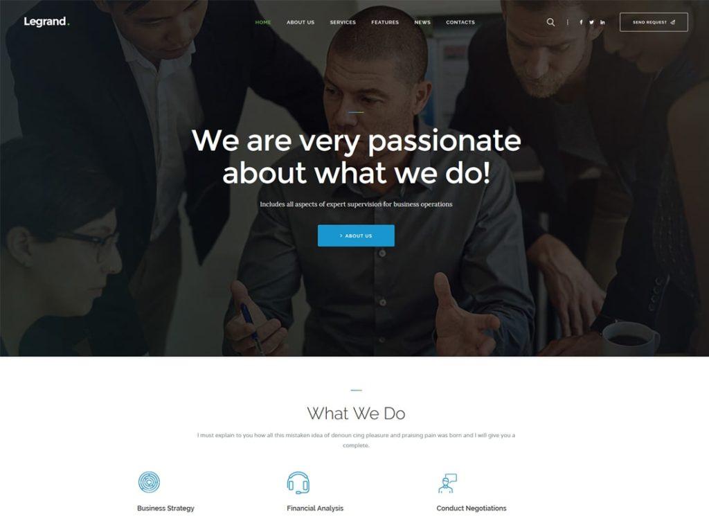 LeGrand    Un thème WordPress professionnel polyvalent et moderne