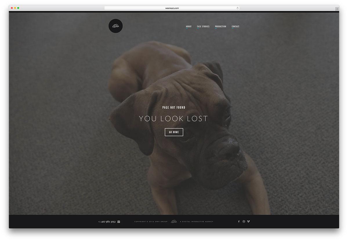 Exemple de page-erreur-404-non-trouvée-wearespry