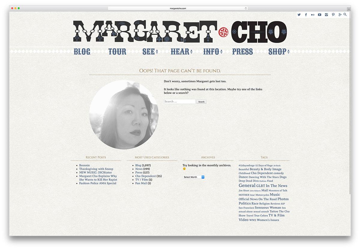 margaretcho-simple-404-page-d'erreur