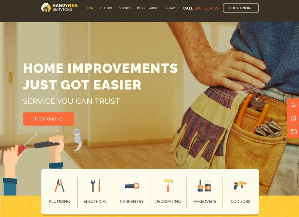 Bricoleur |  Services de construction et de réparation Thème WordPress de construction