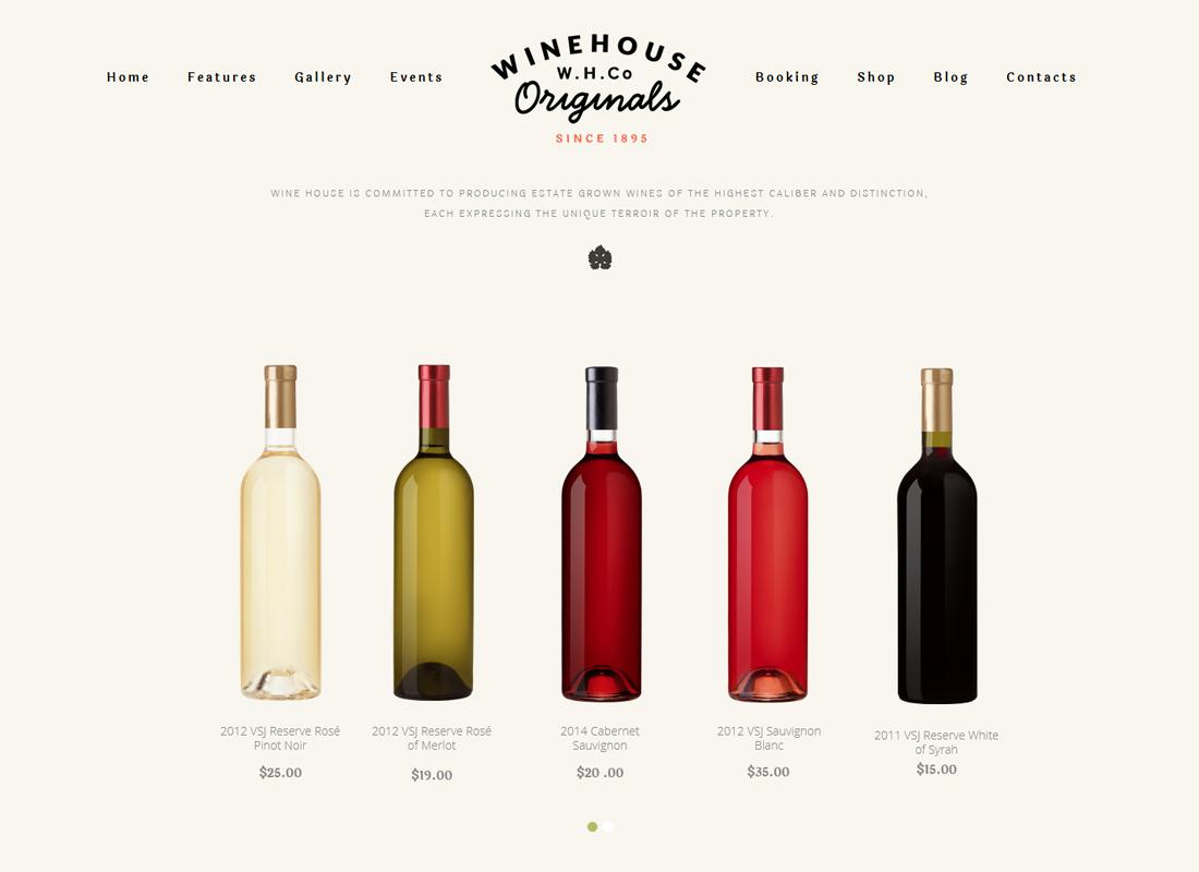 Maison du Vin |  Thème WordPress pour vignobles et restaurants