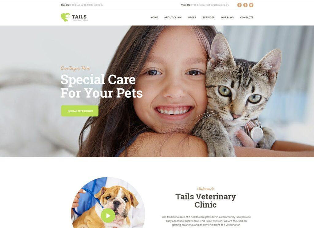 Queues |  Clinique vétérinaire, soins pour animaux de compagnie et thème WordPress pour animaux + boutique