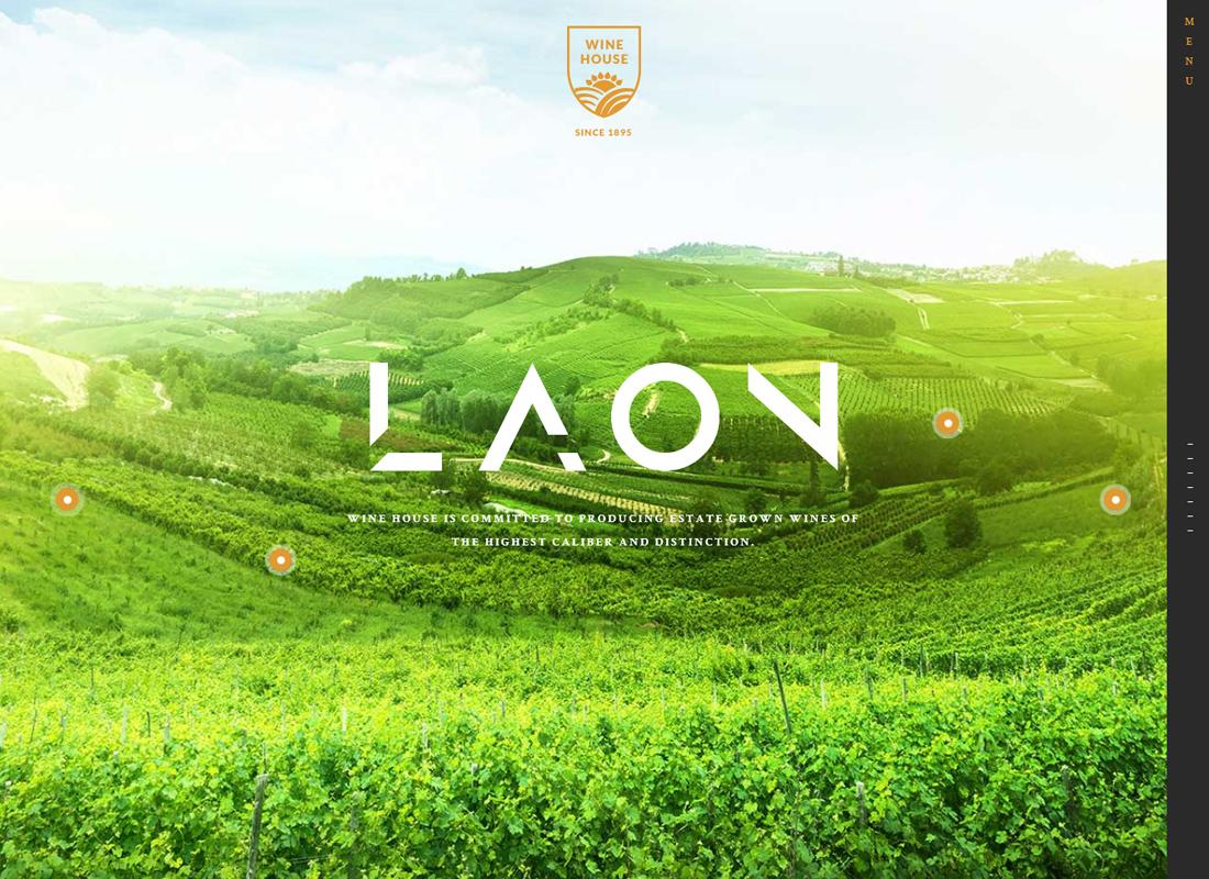 Laon |  Thème WordPress pour maison de vin, cave et magasin de vin