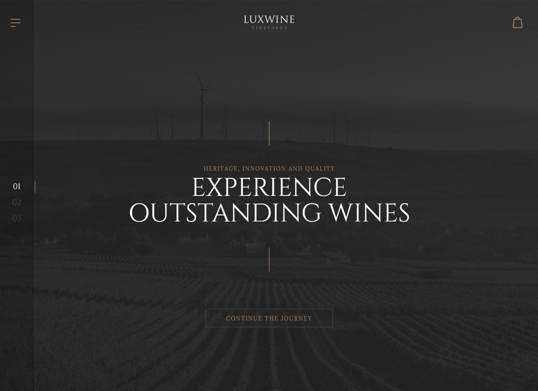 Luxwine - Thème WordPress pour le vin