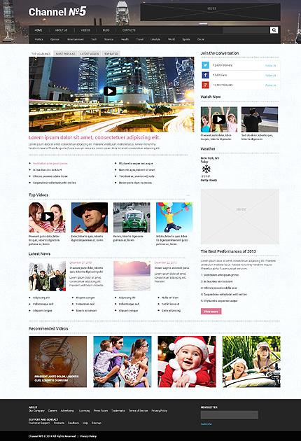 Thème WordPress adaptatif aux chaînes de télévision