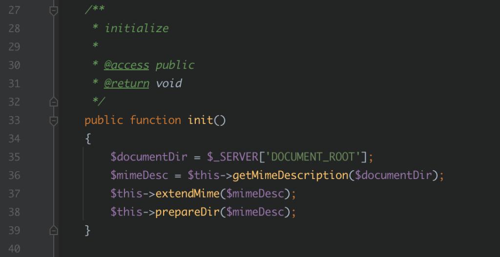 Image montrant la méthode d'initialisation du malware