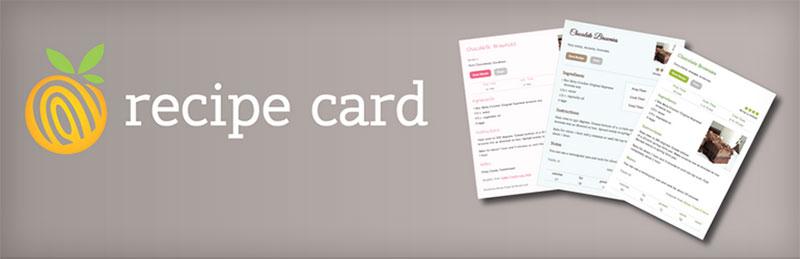 Démarrer un plugin de carte de recette de blog alimentaire