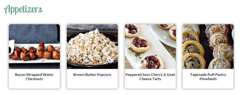 Démarrer un index visuel de blog alimentaire