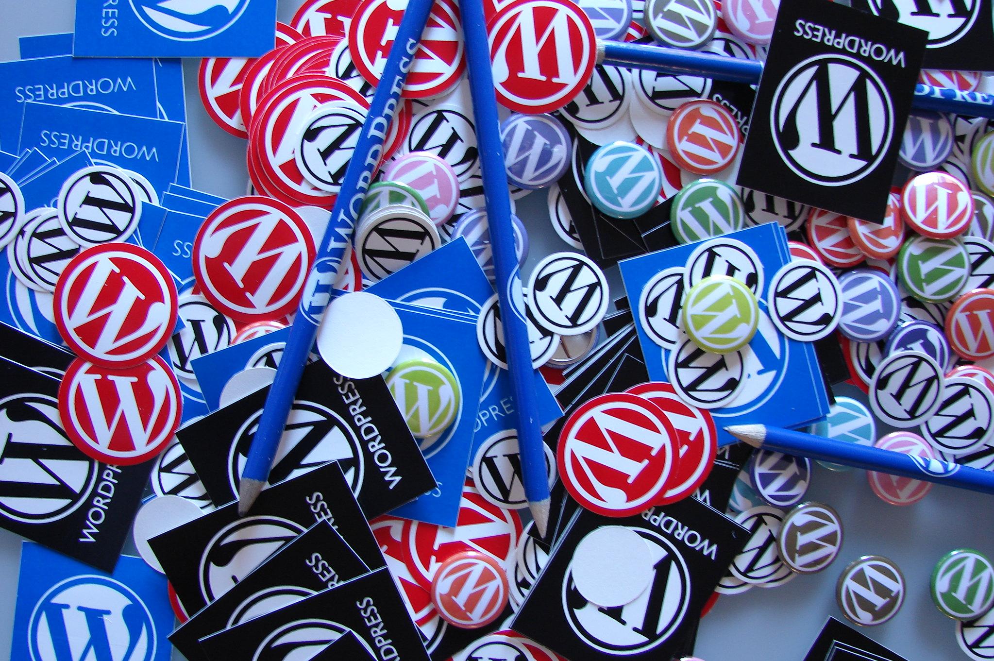 WordCamp Swag