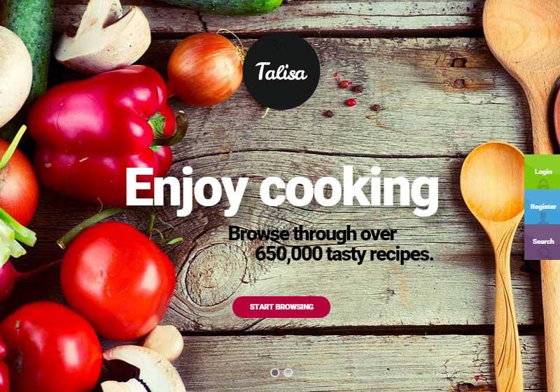 Démarrer un blog culinaire Talisa
